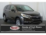 2016 Kona Coffee Metallic Honda CR-V EX AWD #113330970