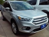 2017 Ingot Silver Ford Escape Titanium #113330677