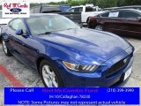 2016 Deep Impact Blue Metallic Ford Mustang V6 Coupe #113330668