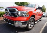 2014 Flame Red Ram 1500 Big Horn Quad Cab #113330775