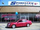 2008 Redfire Metallic Ford Fusion SEL #11325856