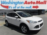 2013 Oxford White Ford Escape SE 2.0L EcoBoost 4WD #113330715