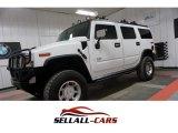 2003 White Hummer H2 SUV #113330584