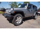 2016 Billet Silver Metallic Jeep Wrangler Unlimited Sport 4x4 #113351959