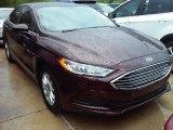 2017 Burgundy Velvet Ford Fusion S #113366704