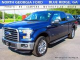 2016 Blue Jeans Ford F150 XLT SuperCab 4x4 #113366656