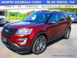 2016 Bronze Fire Metallic Ford Explorer Sport 4WD #113366654