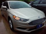 2017 White Gold Ford Fusion S #113366706