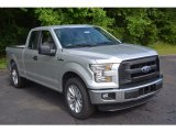 2016 Ingot Silver Ford F150 XL SuperCab #113374610