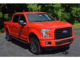 2016 Race Red Ford F150 XLT SuperCrew 4x4 #113374608