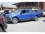 2016 Blue Flame Ford F150 XLT SuperCab 4x4 #113374394