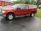 2014 Ruby Red Ford F150 XLT SuperCab 4x4 #113374667