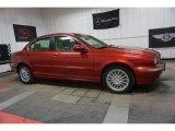 2007 Jaguar X-Type Chili Red Metallic