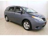 2013 Shoreline Blue Pearl Toyota Sienna LE #113374633