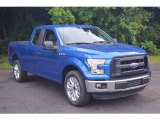 2016 Blue Flame Ford F150 XL SuperCab #113374613