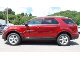 2016 Ruby Red Metallic Tri-Coat Ford Explorer XLT 4WD #113374438
