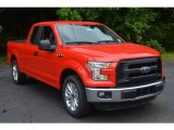 2016 Race Red Ford F150 XL SuperCab #113374612