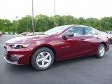 2016 Butte Red Metallic Chevrolet Malibu LS #113420179