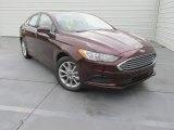 2017 Burgundy Velvet Ford Fusion SE #113420234