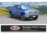 2016 Blazing Blue Pearl Toyota Tundra SR5 CrewMax 4x4 #113419985