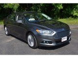 2015 Magnetic Metallic Ford Fusion Titanium #113420326