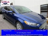 2013 Deep Impact Blue Metallic Ford Fusion S #113452192