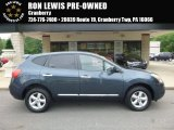 2013 Graphite Blue Nissan Rogue S AWD #113452280