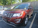 2016 Ruby Red Metallic Tri-Coat Ford Explorer Limited #113452241