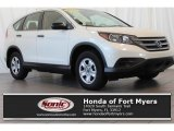 2013 White Diamond Pearl Honda CR-V LX #113452108