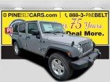 2016 Billet Silver Metallic Jeep Wrangler Unlimited Sport 4x4 #113452096