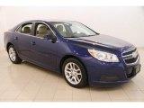 2013 Blue Topaz Metallic Chevrolet Malibu LT #113452551