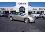 2015 Creme Brulee Mica Toyota Camry LE #113452383