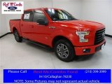 2016 Race Red Ford F150 XLT SuperCrew #113488132