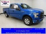 2016 Blue Flame Ford F150 XL SuperCab #113488130