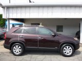 2012 Dark Cherry Kia Sorento LX AWD #113488178