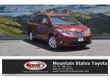 2016 Salsa Red Pearl Toyota Sienna XLE Premium AWD #113488083