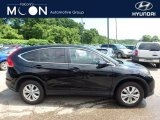 2013 Crystal Black Pearl Honda CR-V EX AWD #113505800