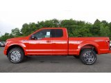 2016 Race Red Ford F150 XLT SuperCab 4x4 #113505797