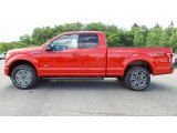 2016 Race Red Ford F150 XLT SuperCab 4x4 #113505796