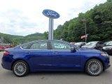 Deep Impact Blue Metallic Ford Fusion in 2015