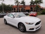 2016 Oxford White Ford Mustang EcoBoost Coupe #113505723
