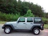 2016 Billet Silver Metallic Jeep Wrangler Unlimited Sport 4x4 RHD #113505628