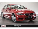2013 Melbourne Red Metallic BMW 3 Series 335i Sedan #113526242