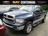 2004 Patriot Blue Pearl Dodge Ram 1500 ST Quad Cab 4x4 #113526058