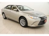 2015 Creme Brulee Mica Toyota Camry LE #113526376
