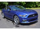 2016 Deep Impact Blue Metallic Ford Mustang V6 Coupe #113526361