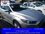 2016 Ingot Silver Metallic Ford Fusion Titanium #113526020