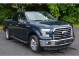 2016 Blue Jeans Ford F150 XLT SuperCrew #113526353