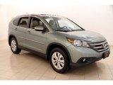 2012 Opal Sage Metallic Honda CR-V EX-L 4WD #113563694