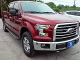 2016 Ruby Red Ford F150 XLT SuperCrew 4x4 #113563486